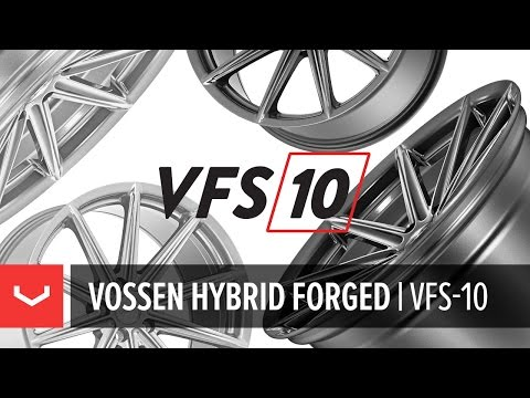 The All-New Vossen Hybrid Forged VFS-10 Wheel | VFS10