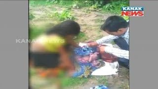Lady Delivers Twins In Forest In Malkangiri, Gets No Help From Kin & Neighbours