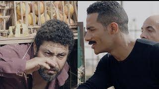 زين قبض علي مسعد متهرب في عربية فاكهة - مسلسل نسر الصعيد  - محمد رمضان