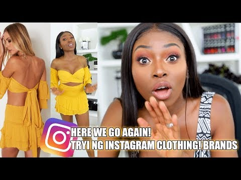 TRYING OUT INSTAGRAM CLOTHING BRANDS...A SCAM OR WORTH THE COIN??? WHITEFOX BOUTIQUE