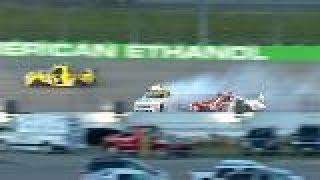 Grala gets loose, sets off multi-truck wreck