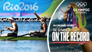 New Zealand Duo show superiority to take Rowing Gold | The Olympics On The Record