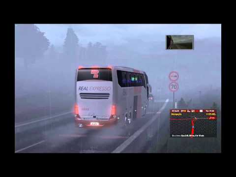 Euro Truck Simulator 2 TSM 4.0 With Bus Real Expresso Full HD