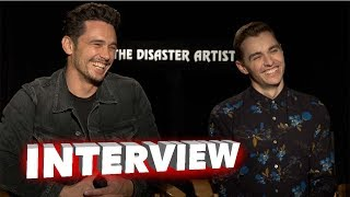 The Disaster Artist: James Franco & Dave Franco Exclusive Interview