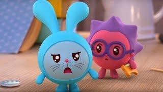 Малышарики - Обучающий мультик для малышей - Все серии подряд -  про животных - учим животных