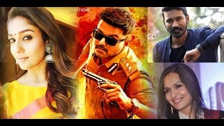 Nayanthara, Dhanush, Soundarya Rajinikanth and other celebrities comments about Vijay's Theri