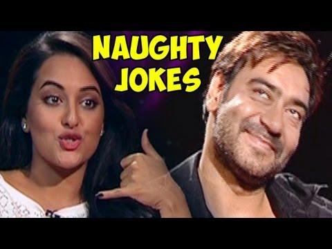 Xxx Mp4 Shahid Kapoor Sonakshi Sinha Sonam Kapoor Ajay Devgn John Describe Their Naughtiest Joke 3gp Sex