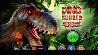 Dino Bunker Defense / Dinosaur games / Children / Android Gameplay Video