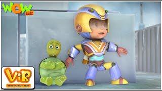 The Turtle Alien | Vir: The Robot Boy | ENGLISH, SPANISH & FRENCH SUBTITLES | WowKidz