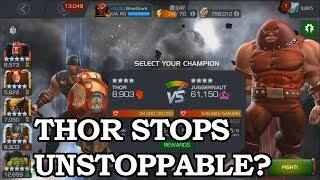 Can Thor Stop the Unstoppable? | Marvel Contest of Champions