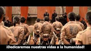 Ataque a los Titanes(Shingeki No Kyojin) - Live Action Movie Trailer #2 - Subtitulado al Español