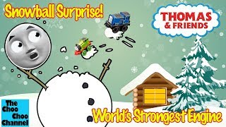 Snowball Surprise! | World's Strongest Engine | Thomas And Friends Toy Trains