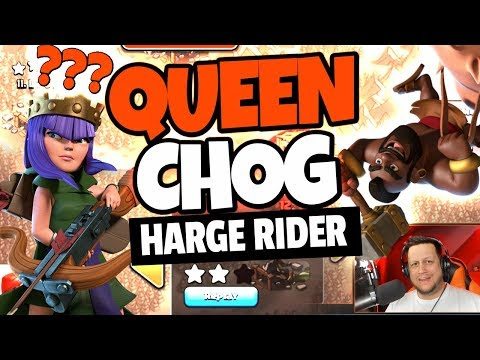 THE QUEEN CHOG HARGE RIDER. It destroys