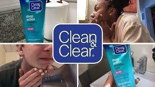 Clean deep down-to-the-pores | CLEAN & CLEAR®