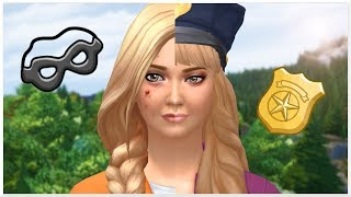 THE SIMS 4 | CRIMINAL TO COP - BIRTH TO DEATH MACHINIMA