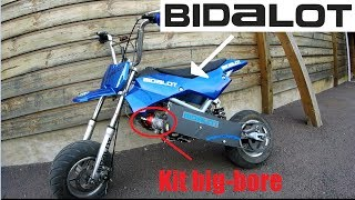 Ma pocket bike bidalot : Ou j'en suis ?!