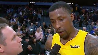 Kentavious Caldwell-Pope Postgame Interview / LA Lakers vs Kings / Feb 24