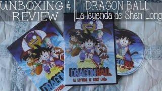 UNBOXING & REVIEW | DRAGON BALL La Leyenda de Shen Long DVD