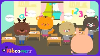 Good Morning Song | Circle Time Song for Children | The Kiboomers