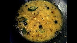 Easy Dal Curry For Bread/Paratha | Tasty Dhal/Parippu Recipe