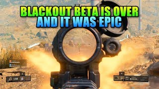 COD BO4 Blackout PC Beta Review - Other Battle Royales Should Be Scared