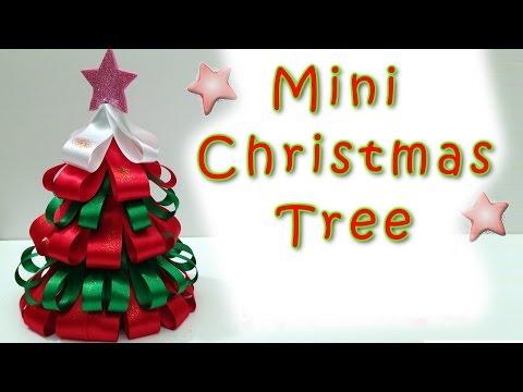 Mini Christmas Tree - EASY!!  Ana | DIY Crafts.Christmas Decorations