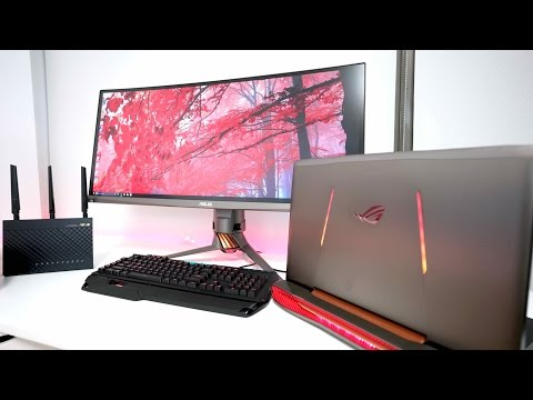 The ULTIMATE Gaming Laptop SETUP of 2017
