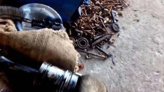 Ремонт мотора МТЗ..Замена поршневой...