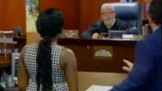 Foxy Brown In Court Getting Yelled At - 4/23/08