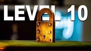 Solving The Level 10 PADLOCK Puzzle!! (Very Difficult)