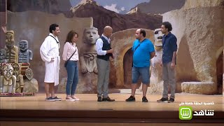 أشرف عبد الباقي يطلب الالتزام بنص المسرحية
