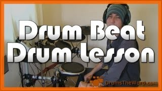 ★ Rock And Roll (Led Zeppelin) ★ Drum Lesson | How To Play Drum Beat (John Bonham)