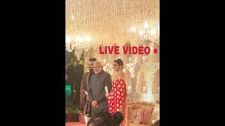 विराट अनुष्का और मोदी Live Video !! at #virushka reception