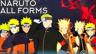 Naruto Moveset All 8 Forms+Combo+Awakening[Showcase] Naruto Shippuden Ultimate Ninja Storm 4