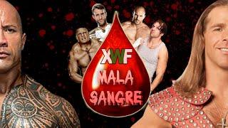 XWF Mala Sangre 2015 - Full Show PPV | WWE 2K15