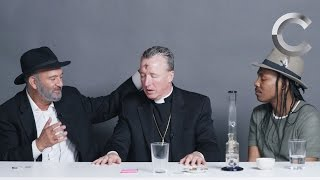 A Rabbi, a Priest and an Atheist Smoke Weed Together | Strange Buds