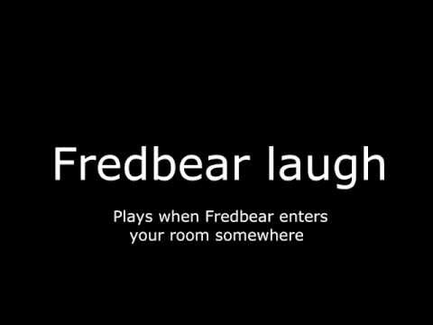 Five Nights at Freddys 4 ALL sounds in-game