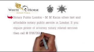 M Karim Notary Public Video