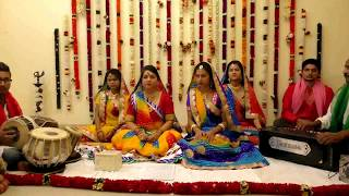 Tar bijli se patle hamare piya - Bhojpuri folk song by Sakha Vrind Troupe, Delhi