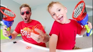 Father & Son GET CRAZY HELICOPTER LAUNCHERS! / Goes SUPER High!