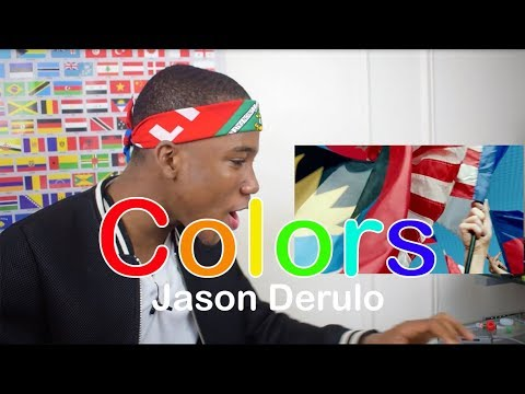 Jason Derulo - Colors (Coca-Cola Anthem for the 2018 World Cup)- REACTION