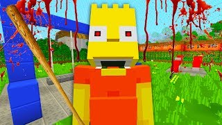 Bart Becomes a Bully   The Simpsons   Minecraft Xbox [69]