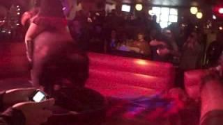 Blonde Slut Riding A Bull