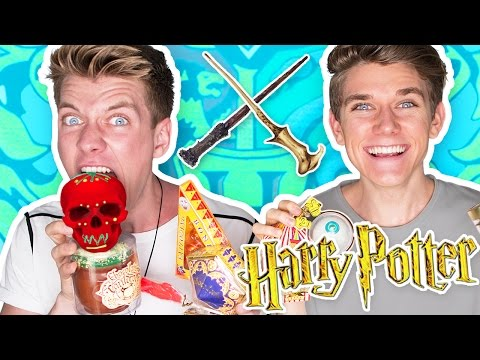 TRYING HARRY POTTER CANDY Bean Boozled Challenge 🔮 Collins Key