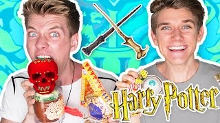 TRYING HARRY POTTER CANDY + Bean Boozled Challenge 🔮 | Collins Key