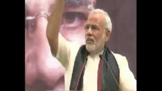 Narendra Modi Hindi speech at SRCC Delhi 6/2/2013