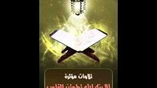 إن الذين فتنوا المؤمنين والمؤمنات ثم لم يتوبوا( ياسر الدوسرى )