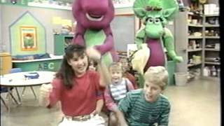 Opening To Barney:Rhymes With Mother Goose 1993 VHS