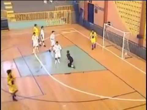 Futsal Duas Jogadas Ensaiadas de Tiro Livre