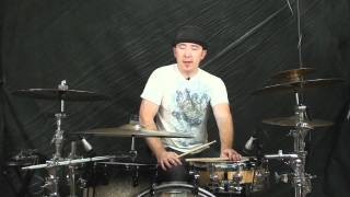 Drum Lesson: How To Play Cross Stick
